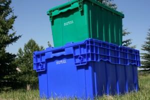 Ecobox plastic moving boxes