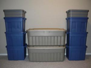 Rent Plastic Moving Boxes